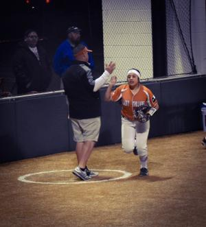 The Greatest 4 years of my softball coaching career, being able to spend them with my daughter.