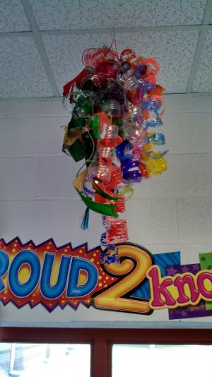 Chilhuly Water Bottle Chandelier