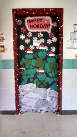 Holiday Door Contest Winner