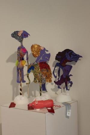 Wayung Kulit Puppets and Pig