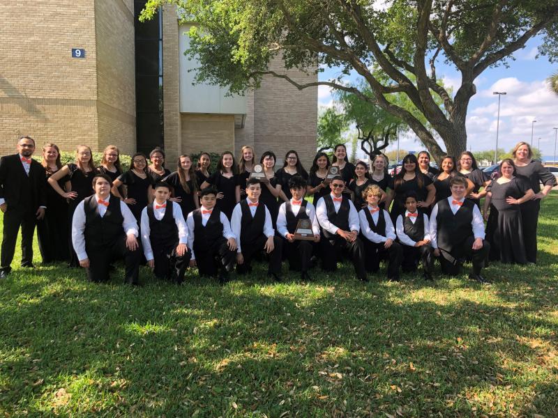 MJH Choir at UIL