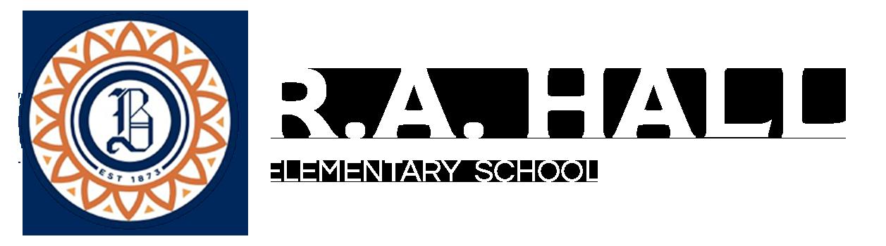 R.A. Hall Elementary School Logo