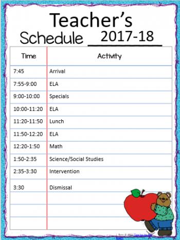 Mrs. Breaux's Class Schedule