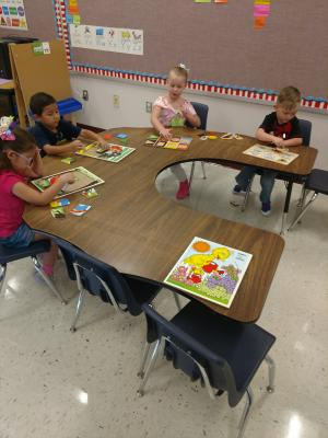 Puzzles Caitlyn, Darian, Maya, Keenan