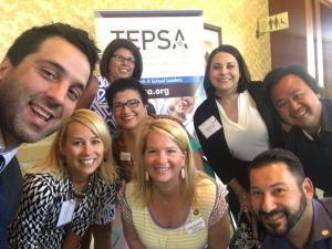 Texas Elementary Principals and Supervisors Association Executive Board and George Couros