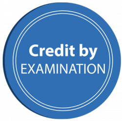 Credit By Exam Important Information