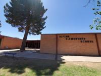 Landscape View facing Alpine Elementary Campus