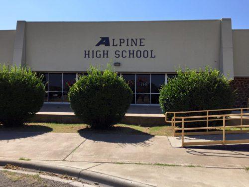 Landscape View facing Alpine High School