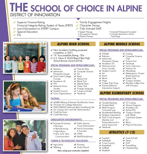 Alpine ISD - School of Choice