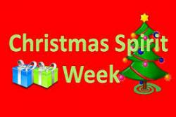 CHRISTMAS SPIRIT WEEK PICTURES