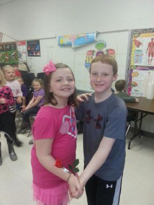 Valentine's Day dance: Dax and Brooklyn