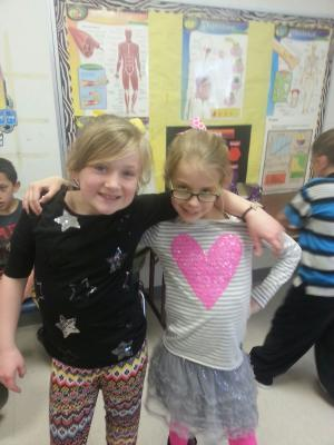 Valentine's Day dance: Linley and Karsen