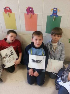 Vocabulary Parade: Daedrick, Nathan, Rylen