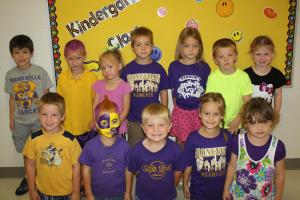 Purple and Gold Day