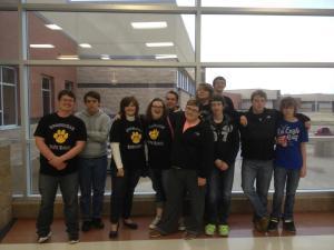 2nd Place Quiz Bowl District Tournament 2013