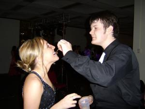 One of my favorite pictures of two of my favorite people -Prom 2008