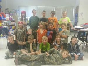 Homecoming Week 2013: Camo/Duck Dynasty Day