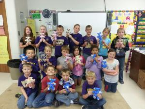 Stuffing bears for the children's hospital