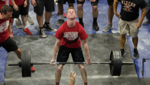 405 lb deadlift (school record in weight class)