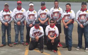 2016 fishing team