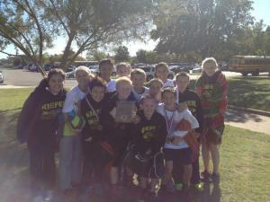 Jr. High Boys 3rd at State 2012