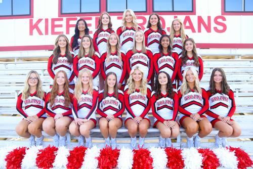 2021-2022 Cheerleaders