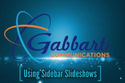 Landscape View facing Using Sidebar Slideshows
