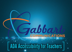 Landscape View facing ADA Accessibility for Teachers