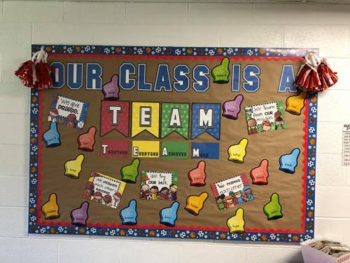 Our class is a TEAM