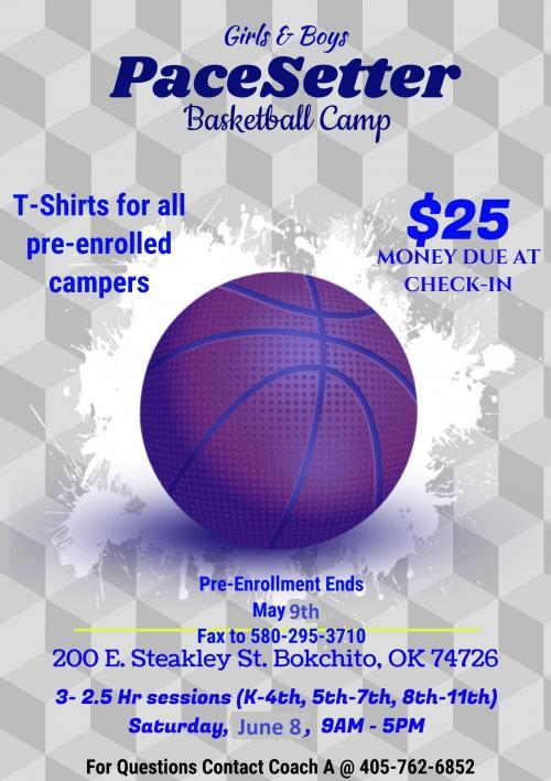 PaceSetter Basketball Skills Camp