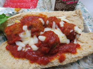 Picture of productMini Meatball Sandwich That Cost 0.00