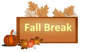 Fall Break Banner
