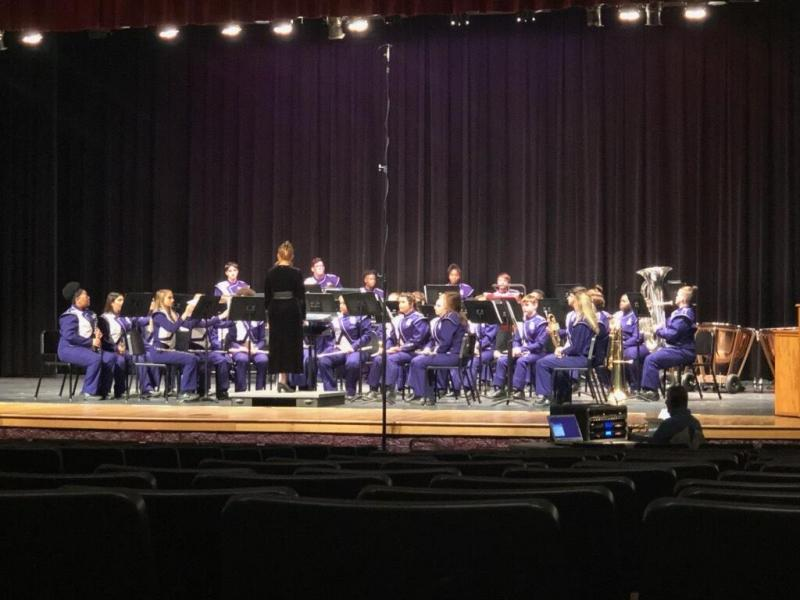 Newton Eagle Band Concert and Sight Reading Contest