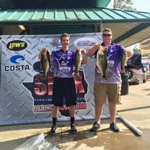 Cody and Andrew 4/16/16 Sam Rayburn  13th place