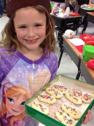 Special cookies were shared from many students. Thanks to all.