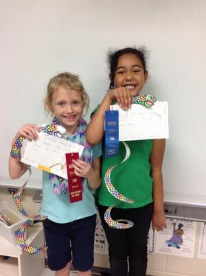 Senor Rattlesnake Art and Writing Newton County Fair 2016 Winners