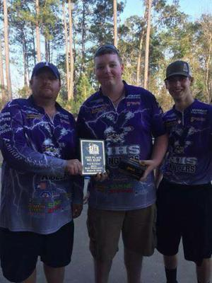 Sam Rayburn Hoss Fowler,Andrew and Cody 3/6/16 Tournament 13th place out of 451teams