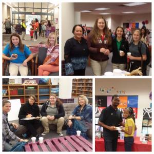 Muffins for Moms and Donuts @ MS Library