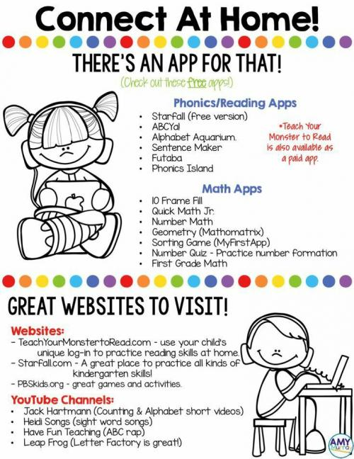 These are some Apps your student can use on their tablet.