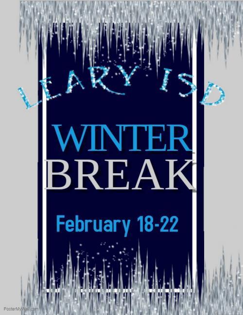Winter Break  February 18-22