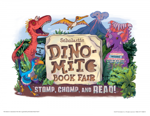 Dino-Mite Leary Book Fair coming March 4-8