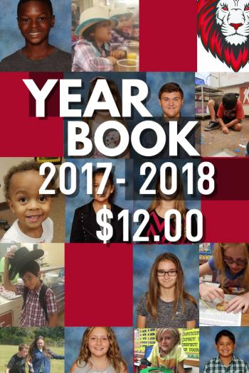 Yearbook 2017-2018 $12.00