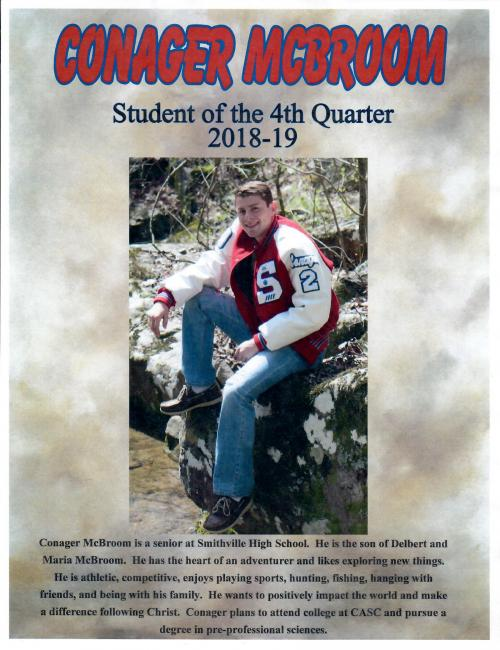 Student of the Fourth Quarter
