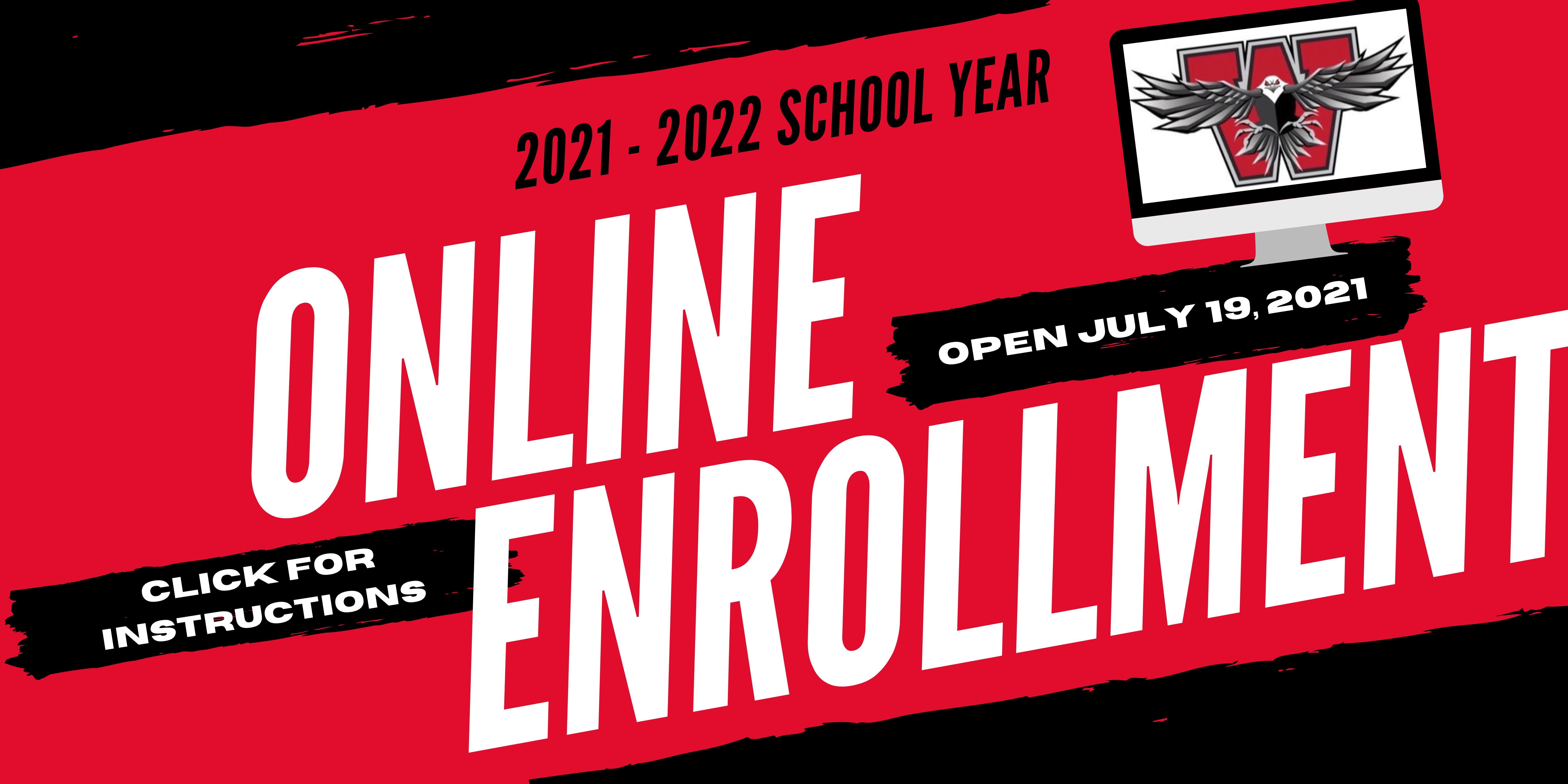 Online Enrollment Instructions - English