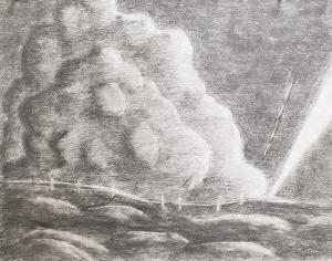 Graphite piece by Davis B.