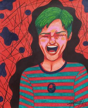Marker piece by Josie L.