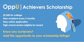 OppU scholarship