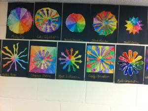 Color Wheels - Protractor Made