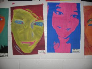 Warhol Style Self Portraits