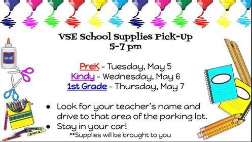 Pick up Schedule